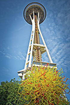 Seattle Space Needle I by Dawn Wayand