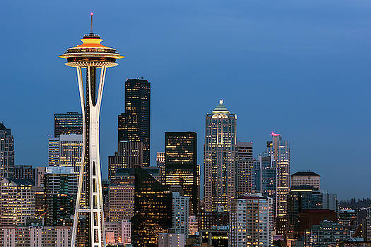 Seattle Space Needle by Nicole Young