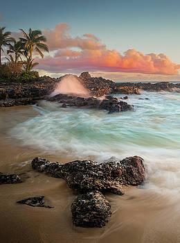 Secret Beach / Maui, Hawaii  by Nicholas Parker