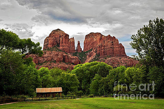 Sedona Mountains by Desert Images