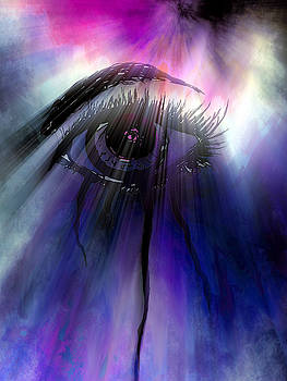 Seeing with a Shaman's Eye by Abstract Angel Artist Stephen K