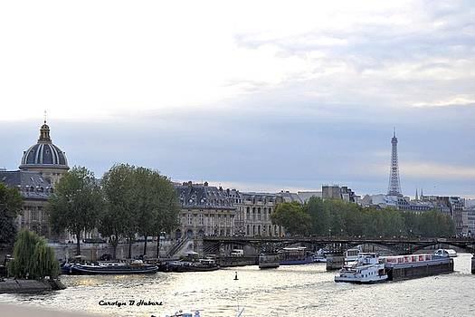 Seine River Landscape by Carolyn Hebert