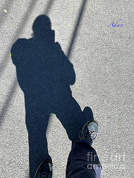 Felipe Adan Lerma - Self Portrait 19 - Balancing With My Shadow