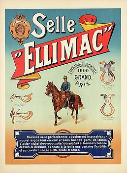 Selle Ellimac poster, France 1900 by Unknown