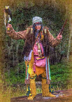 Seminole Indian Shootout Battle Reenactment by Jennifer Stackpole