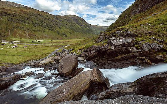 Sendefossen, Norway by Andreas Levi