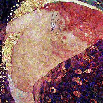 Sensual Danae Abstract Realism  by Georgiana Romanovna