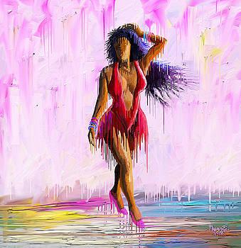 Sensual Walk by Anthony Mwangi