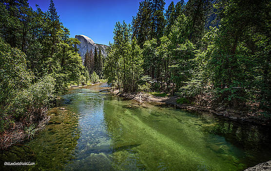 Sentinel Bridge view of Half Dome by LeeAnn McLaneGoetz McLaneGoetzStudioLLCcom