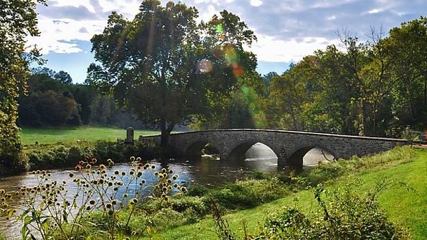 September Burnside Bridge by William Fox