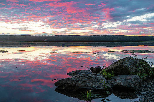 September Dawn at Esopus Meadows I - 2018 by Jeff Severson