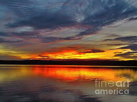September sunset by Brenda Ketch