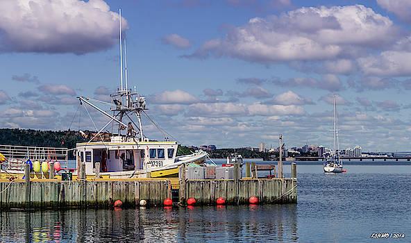Serene Day Fisherman's Cove  by Ken Morris