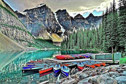 Frozen in Time Fine Art Photography - Serenity in Banff