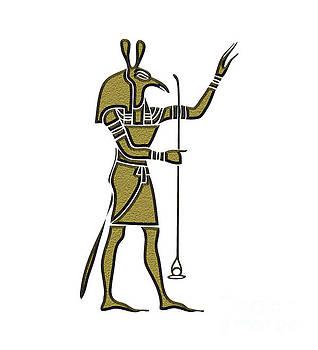 Set - God of Ancient Egypt by Michal Boubin