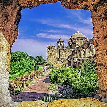 Tony Crehan - Set In Stone - Mission San Jose - San Antonio Texas USA