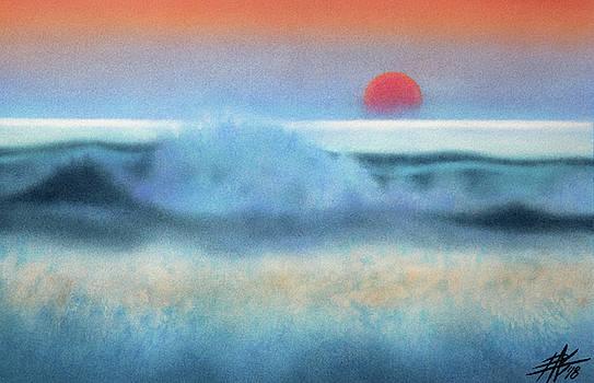 Robin Street-Morris - Setting Sun, Waves of Glass