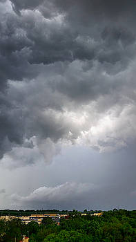 Severe Thunderstorm in Madison, Tennessee  by Ally White