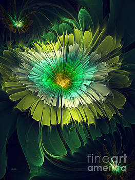 Shades Of Green by Galina Lavrova