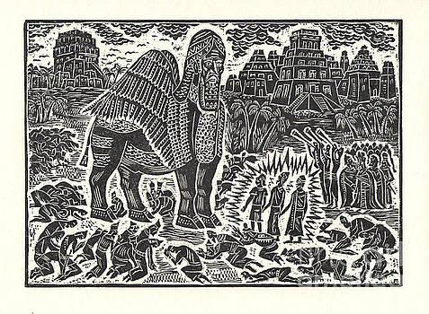 Shadrach, Meshach, and Abednego by Milen Litchkov