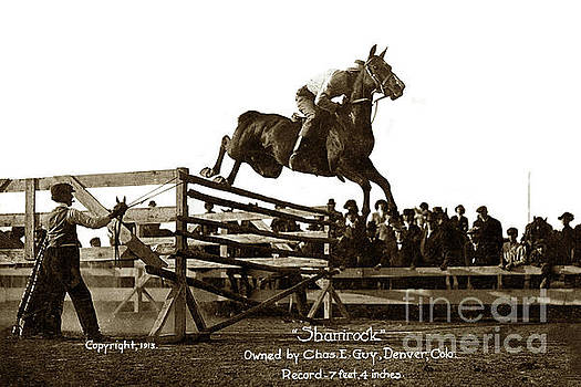 California Views Archives Mr Pat Hathaway Archives - Shamrock  high jump 7feet 4 inchsowned by Chas. E. Guy. Denver,