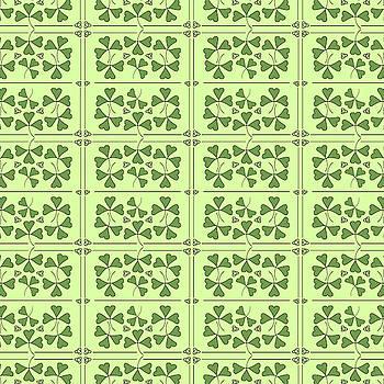 Shamrocks and Trinity Knots Pattern by Lisa Blake