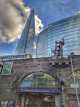 Shard and London Bridge Station by Zahra Majid