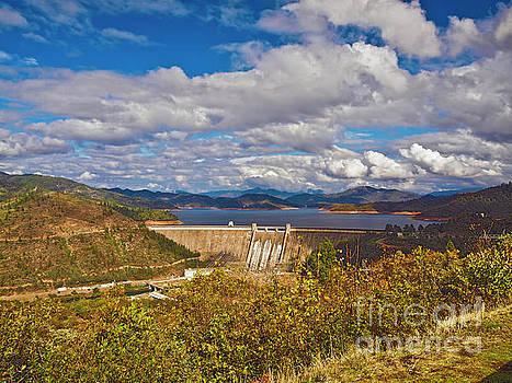 Shasta dam and Shasta lake RANCH016 by Howard Stapleton
