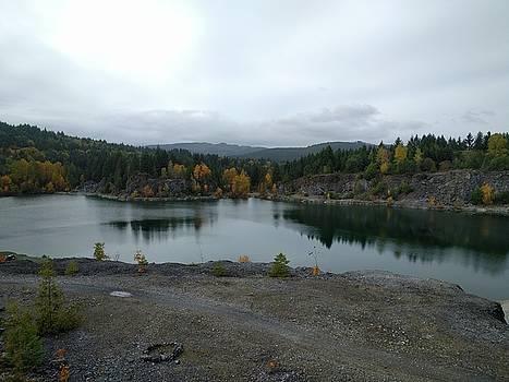 Shawnigan Lake quarry by Jordan Barnes