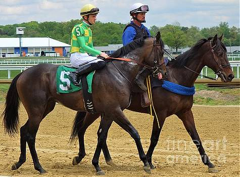 Sheldon Russell - Ian Glass - Laurel Park by Anthony Schafer