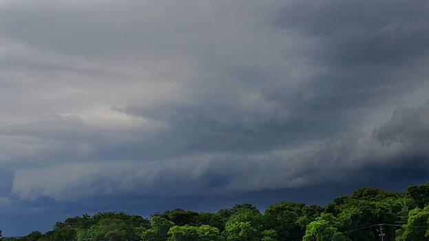 Shelf Cloud in June  by Ally White