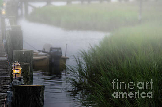 Dale Powell - Shem Creek Fog