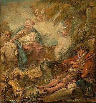 Jean-Baptiste-Henri Deshays - Shepherds Dreaming of the Flight into Egypt