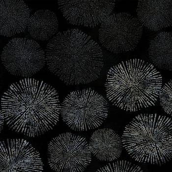 Shibori sea urchin burst pattern by Sand And Chi