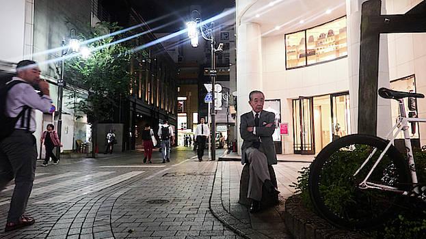 Shinjuku Man by Charles Quiles