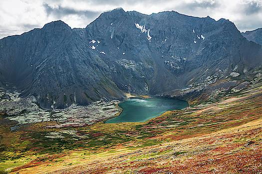 Ship Lake in Autumn by Tim Newton
