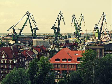 Jurgen Huibers - Shipyard Cranes