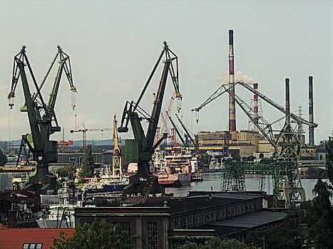 Jurgen Huibers - Shipyard Harbor