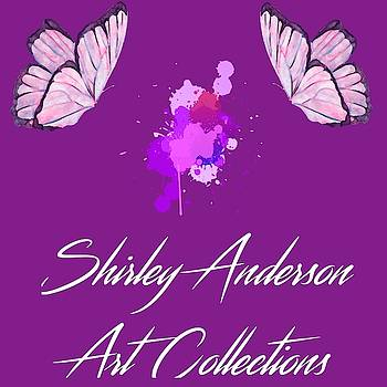 Shirley Anderson Art Collections Logo Art 7 by Shirley Anderson