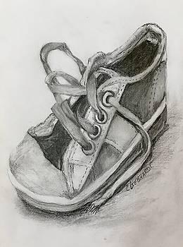 Shoe On The Floor by Chuck Gebhardt