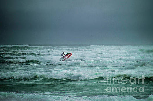 Shooting the Surf by Judy Hall-Folde