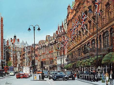 Shopping Day At Harrods by Paul McIntyre