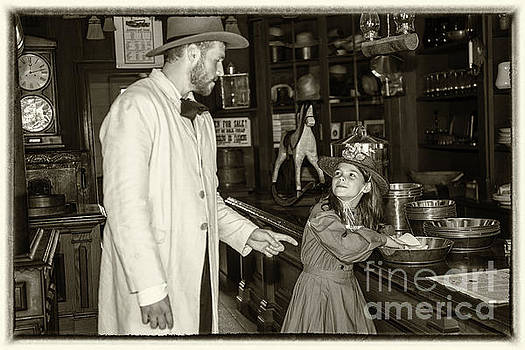 Shopping in Chrysler's Dry Goods Store by Robert McAlpine