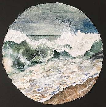 Shore Sphere by Nancy Goldman