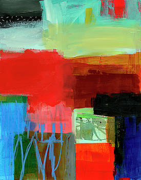 Shoreline #9 by Jane Davies