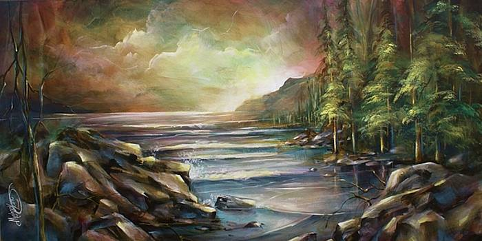 Shoreline by Michael Lang