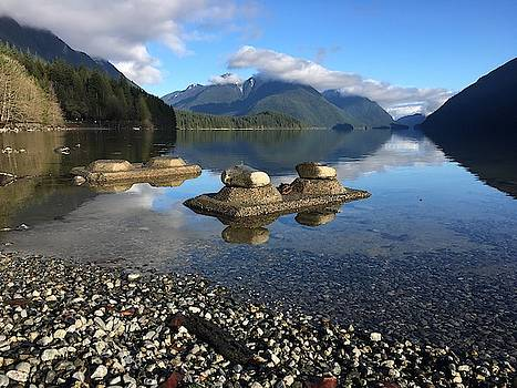 Shoreline Calm - Alouette Lake, Golden Ears Prov. Park - British Columbia by Ian Mcadie