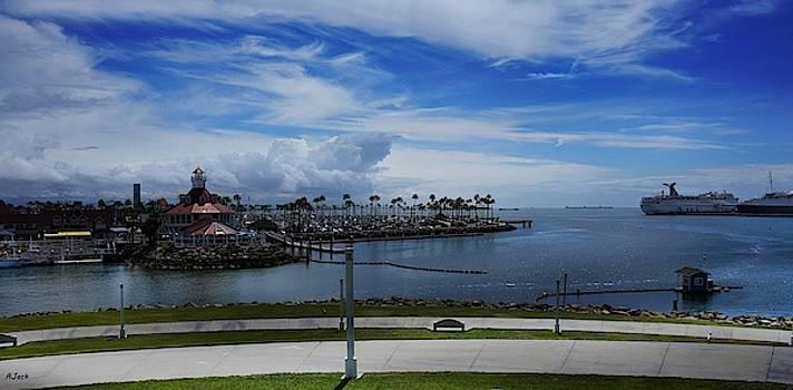 Shoreline Village / Long Beach by John R Williams