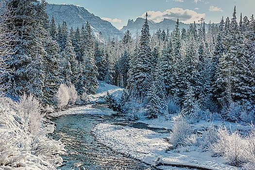 Shoshone River Valley Near Yellowstone East Gate by Barbara Hayton