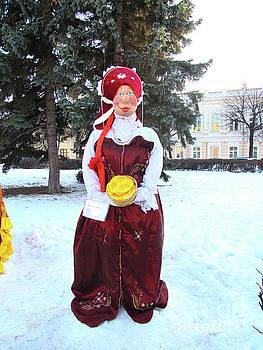 Shrovetide Doll Maslenitsa by Galina Lavrova